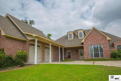 West Monroe Single Family Home Active-Pending: 340 Fiddlers Creek Drive