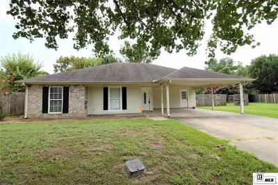 Monroe LA Single Family Home For Sale: $160,000