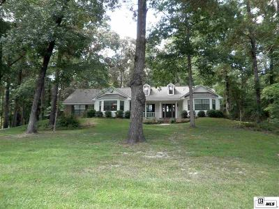 West Monroe Single Family Home Active-Contingent: 306 Three Lakes Road