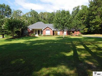West Monroe Single Family Home Active-Pending: 131 Three Lakes Road