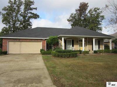 West Monroe LA Single Family Home For Sale: $259,000
