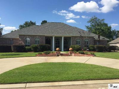 Monroe Single Family Home For Sale: 315 Frenchmans Bend Place