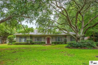 Monroe LA Single Family Home For Sale: $440,000