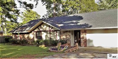 West Monroe LA Single Family Home For Sale: $198,777