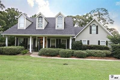 West Monroe Single Family Home Active-Pending: 110 Northwood Drive