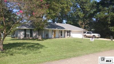 West Monroe LA Single Family Home For Sale: $189,900