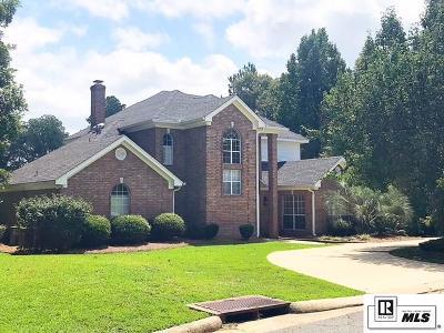 West Monroe LA Single Family Home For Sale: $320,000