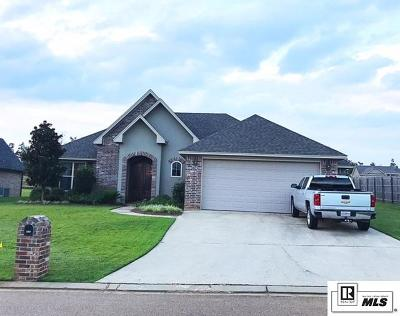 West Monroe Single Family Home New Listing: 212 Austin Oaks Circle
