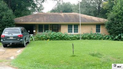 Monroe Single Family Home New Listing: 730 Bayou Shore Drive