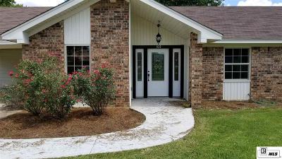 West Monroe LA Single Family Home For Sale: $150,000