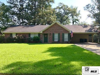 West Monroe LA Single Family Home For Sale: $194,500