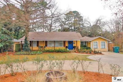 Monroe LA Single Family Home For Sale: $225,000