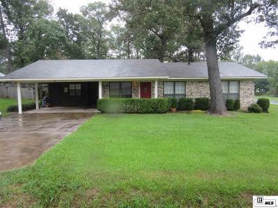 West Monroe LA Single Family Home For Sale: $149,000