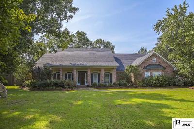 Monroe Single Family Home For Sale: 4608 Bon Aire Drive
