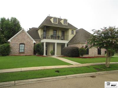 Monroe Single Family Home For Sale: 3710 Acadian Trace Drive