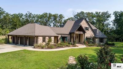 West Monroe LA Single Family Home For Sale: $595,000