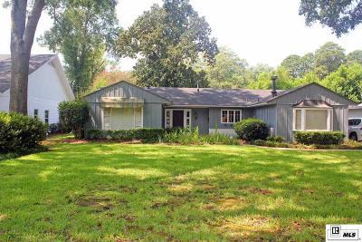 Monroe LA Single Family Home For Sale: $229,000