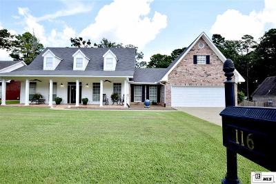 West Monroe LA Single Family Home For Sale: $340,000