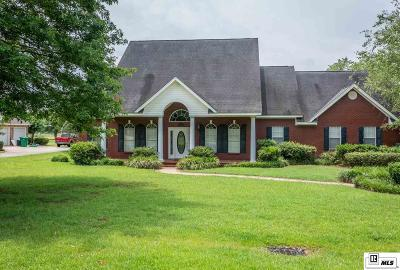 Monroe Single Family Home For Sale: 1496 Frenchmans Bend Road