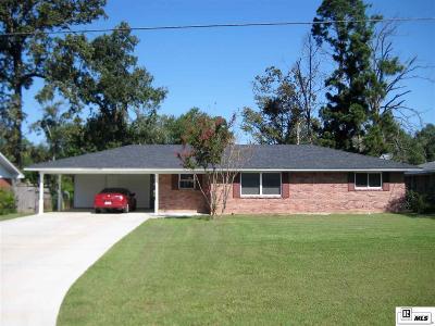 West Monroe Single Family Home Active-Pending: 312 Medorah Drive