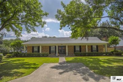 Monroe LA Single Family Home For Sale: $329,500