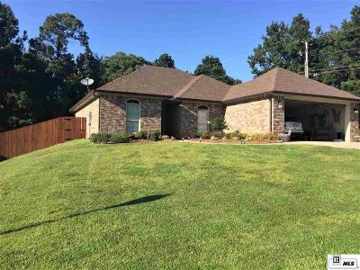 West Monroe LA Single Family Home For Sale: $199,500