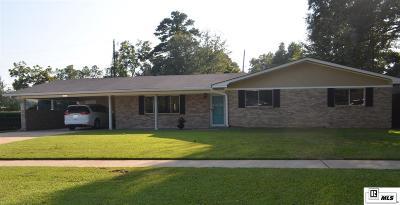 Monroe LA Single Family Home For Sale: $187,700