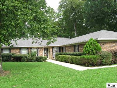 Monroe LA Single Family Home For Sale: $224,500
