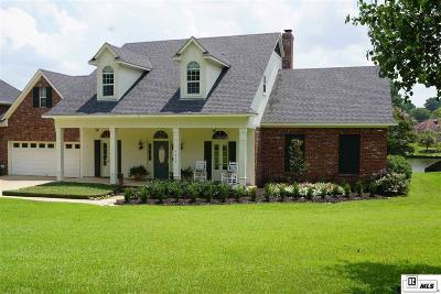 West Monroe Single Family Home Active-Pending: 410 Lakefront Drive