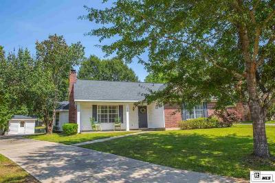 West Monroe Single Family Home Active-Contingent 48 Hrs: 111 Hunters Bend Drive