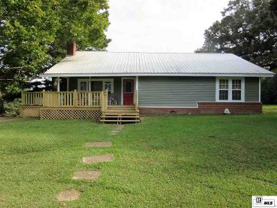 West Monroe Single Family Home For Sale: 198 Woodrow Murphy Road