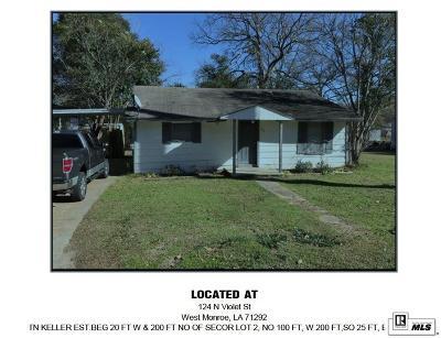 West Monroe Multi Family Home For Sale: 124 N Violet Street