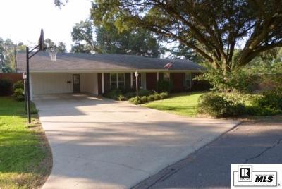 Monroe LA Single Family Home For Sale: $245,000