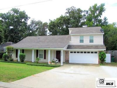 West Monroe Single Family Home For Sale: 302 Foxwood Drive