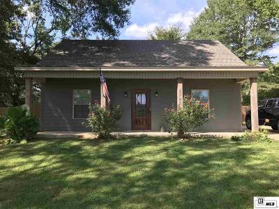 Choudrant Single Family Home Pending Continue To Show: 2342 Highway 80