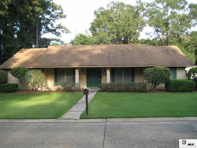 West Monroe Single Family Home For Sale: 104 Greenbriar Drive