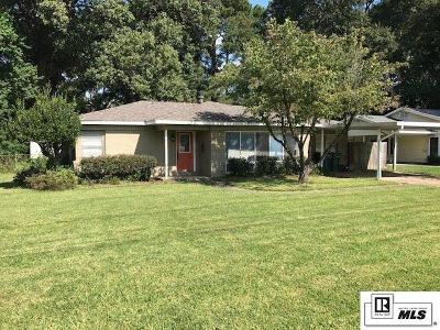 Monroe LA Single Family Home New Listing: $154,000
