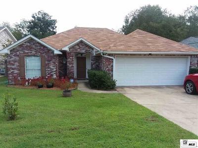West Monroe LA Single Family Home New Listing: $168,300