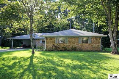 West Monroe LA Single Family Home New Listing: $163,500