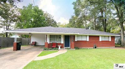 West Monroe LA Single Family Home New Listing: $130,000