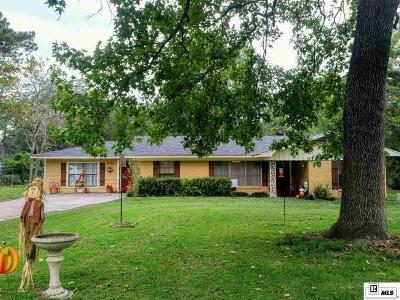 West Monroe LA Single Family Home New Listing: $163,000
