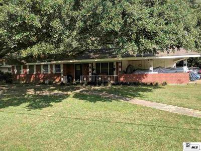 West Monroe Single Family Home New Listing: 202 Mallard Avenue