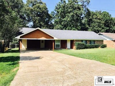 West Monroe LA Single Family Home New Listing: $164,500