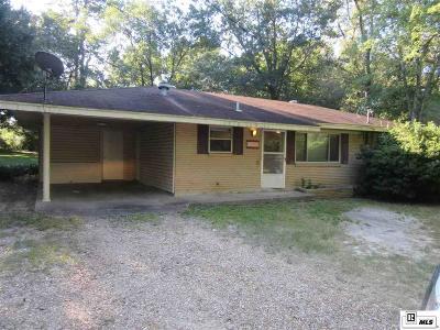 West Monroe LA Single Family Home For Sale: $122,500
