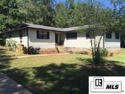Lincoln Parish Single Family Home For Sale: 176 River Oaks Drive