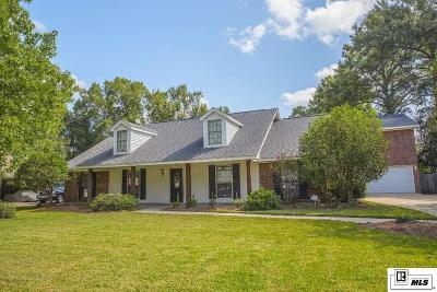 Monroe Single Family Home For Sale: 3516 Tilford Circle