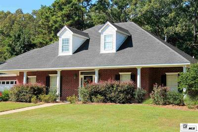 West Monroe Single Family Home For Sale: 100 Brianna Circle