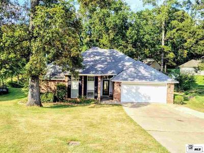 West Monroe Single Family Home For Sale: 114 Tamarack Circle