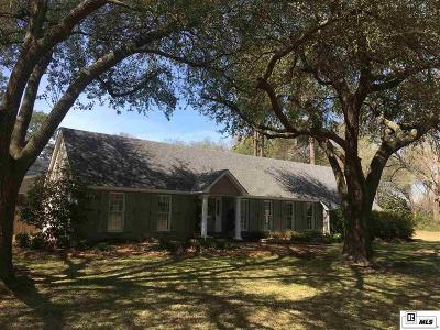 Monroe Single Family Home For Sale: 2739 Bayou Lane