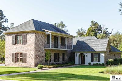 Choudrant Single Family Home For Sale: 496 Loblolly Lane